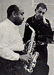Benny Carter and Stanley Wilson, 1962
